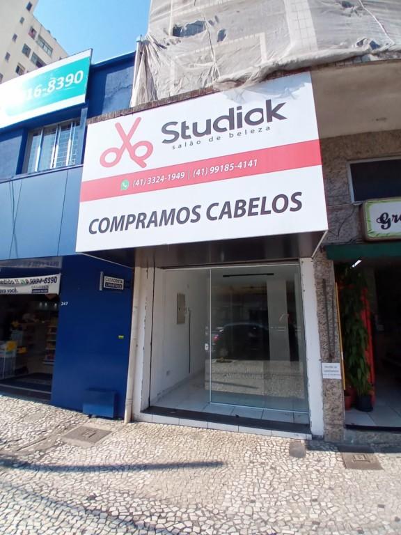 Loja para locacao no Centro em Curitiba com 55m² por R$ 9.000,00